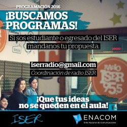 Convocatoria Radio Iser 2016_junio-04