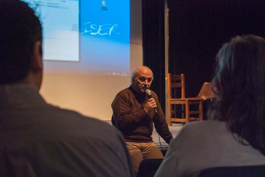 inicio seminario guión documental ENERC ISER