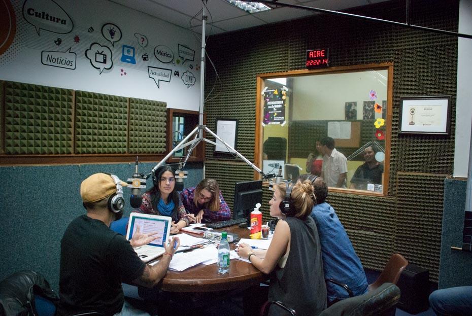 Cobertura Radio en La Noche de los Museos