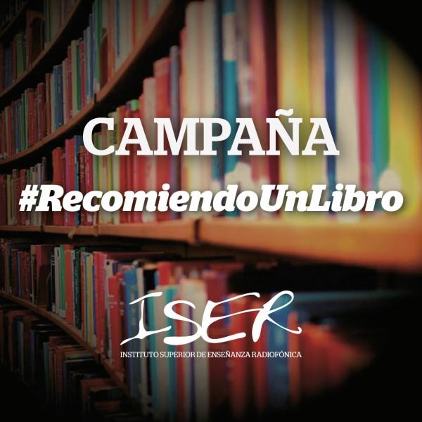 El iser promueve la lectura a través de la recomendación de libro de tu interés